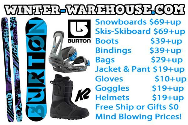 80% Off Snowboards Skis Bindings Boots Gear CHEAP MEGA SALE