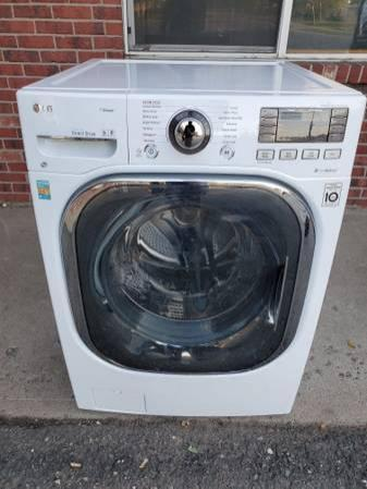 LG 2 in 1 unit washer and electric dryer 110 electric good working con